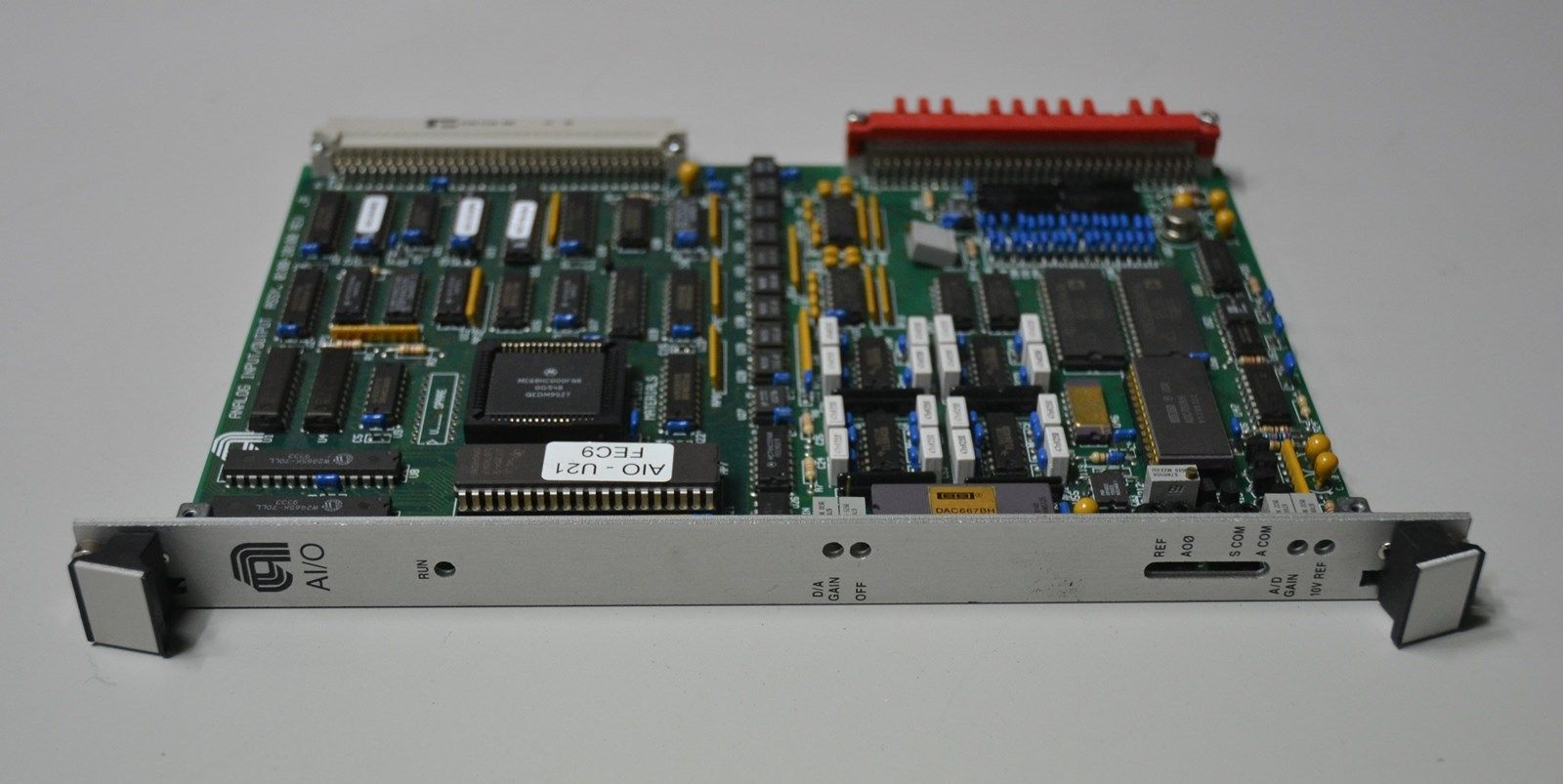 ANALOG I/O PCB 0100-20100
