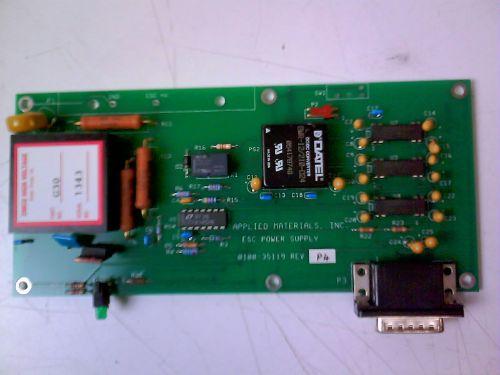 PCB  ESC HV MODULE  AMAT 0100-35119