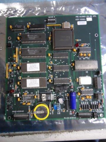 ASYST PRE-ALIGNER CPU BOARD 05060-815