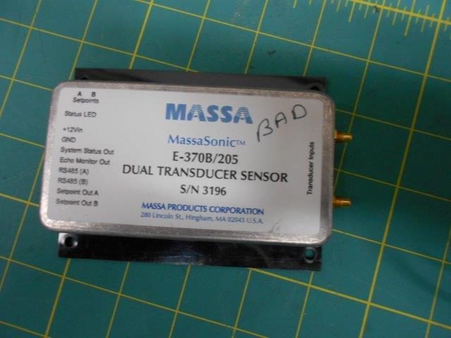 DUAL TRANSDUCER SENSOR E-370B/205