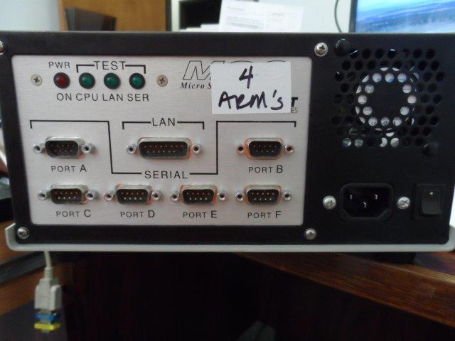 MICRO STATION CONTROLLER MSC-6650