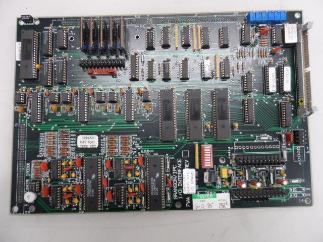 I/O INTERFACE PCB PWA16495-01