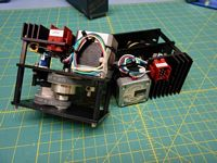 2 PHASE STEPPER MOTOR PX245-02AA-C4
