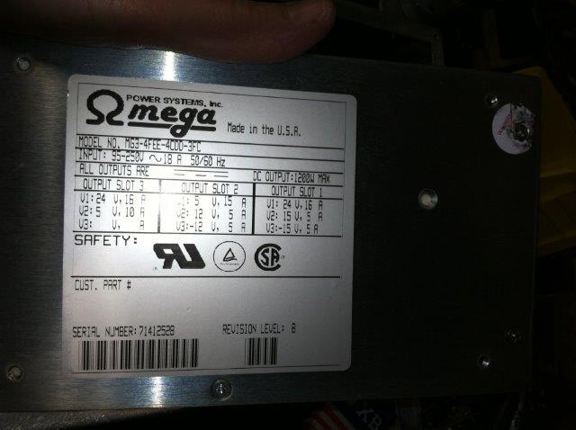 LAM POWER SUPPLY 660-098040-001 UPG101488-02